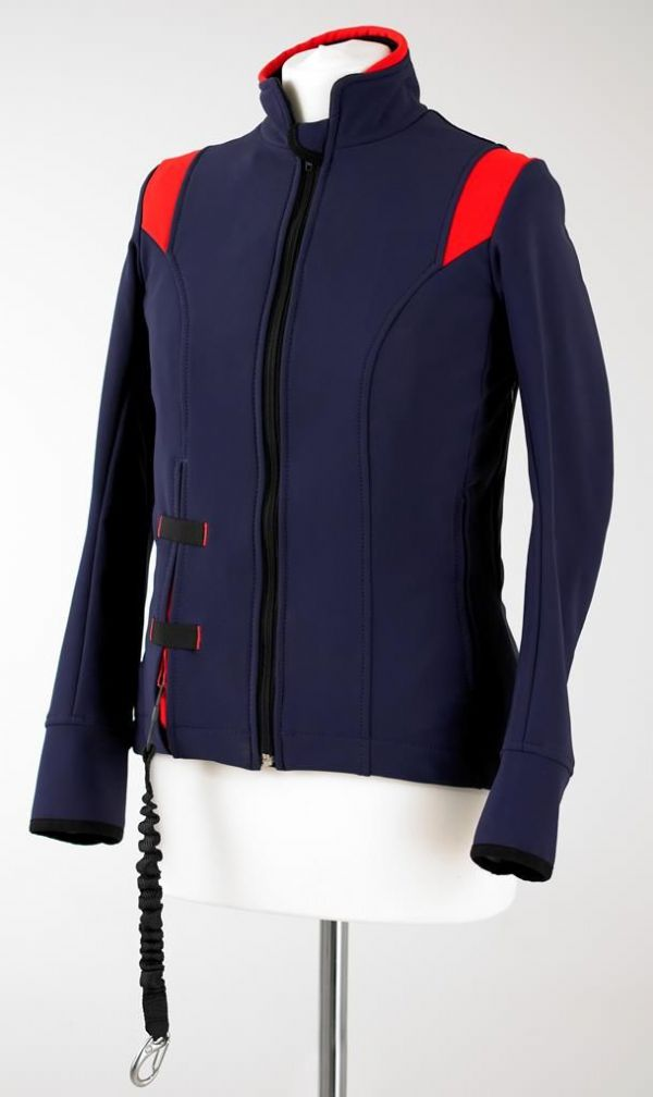 Air Shell Jacket Navy/Red